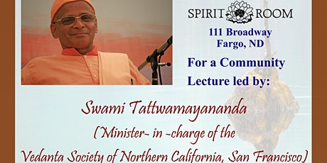 Spiritual Talk: The Battle Within (by Swami Tattwamayananda) tickets