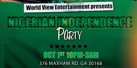 Official Nigerian Independence Party tickets