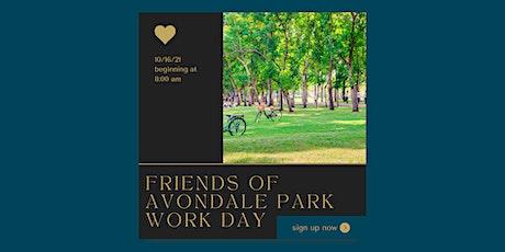 Friends of Avondale Park Work Day tickets