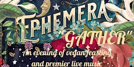 """GATHER"" ------All Hallows Eve,  Vegan gathering feast tickets"