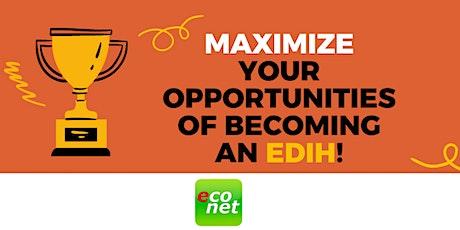 Maximizing Opportunities of EDIH-DIGITAL Programme By Becoming an EDIH! tickets