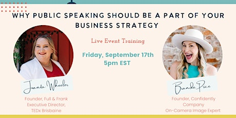 Why Public Speaking Should Be a Part of Your Business Strategy tickets