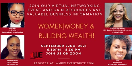 WOMEN|MONEY & BUILDING WEALTH tickets