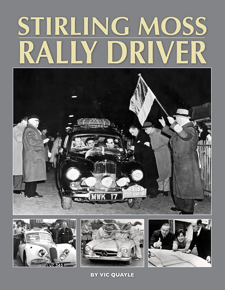 'Stirling Moss - Rally Driver' a Zoom Talk by Vic Quayle image