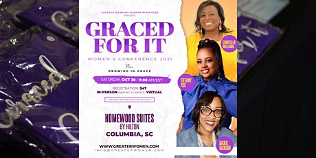 Graced For It 2021 Women's Conference tickets