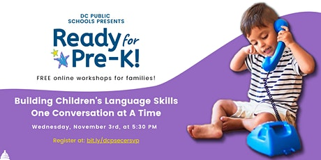 Building Children's Language Skills One Conversation at A Time tickets