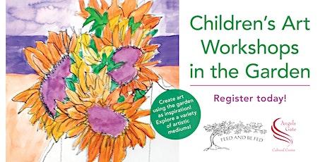 Children's Art Workshops in the Garden tickets