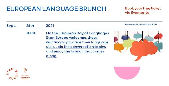 Afbeelding van European Languages Brunch