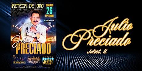 JULIO PRECIADO tickets