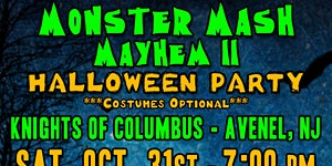 Monster Mash Mayhem II Halloween Costume Party