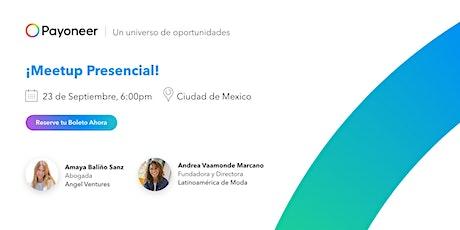 Reunión Presencial | Meetup de Emprendedores y Autonomos con Payoneer boletos