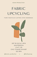 fabric upcycling tickets