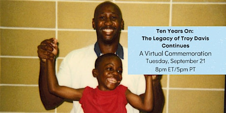 Ten Years On: The Legacy of Troy Davis Continues tickets