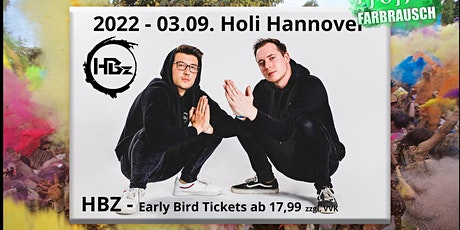 Holi Farbrausch Hannover-Wedemark 2022 mit HBZ und viele mehr... Tickets