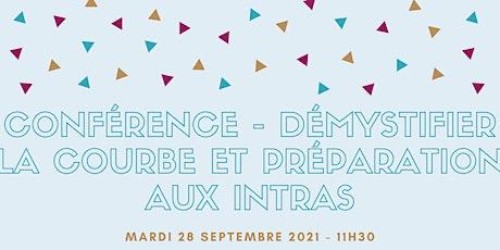Conférence - Démystifier la courbe et préparation aux intras tickets