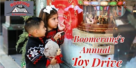 6th Annual Toy Drive (Gala) presented by BOOMERANG STRATEGIES! tickets