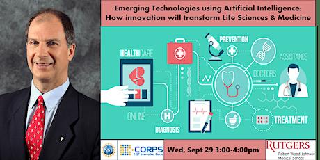 Emerging Technologies using AI in Life Sciences & Medicine ingressos