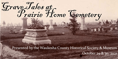 Grave Tales: a history tour of Prairie Home Cemetery tickets
