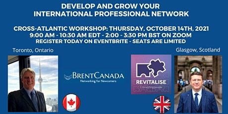 Develop and Grow your International Professional Network entradas