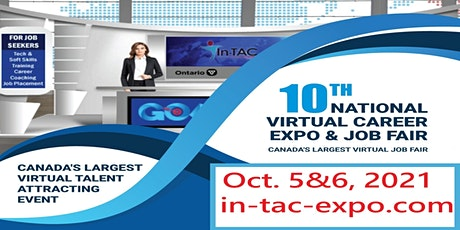 In-TAC's VCE10 -Canada's largest online job fair, October 5-6,2021 tickets