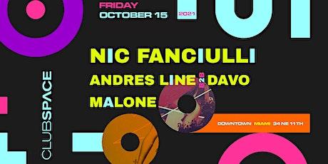 Nic Fanciulli @ Club Space Miami tickets