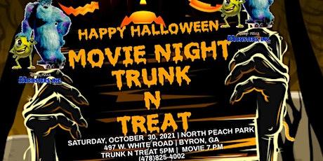 Movie Night Trunk N Treat tickets