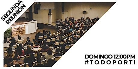 Reunión dominical - segunda reunión - 19 de Septiembre 2021 tickets