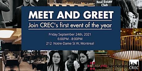 Meet & Greet - CREC tickets