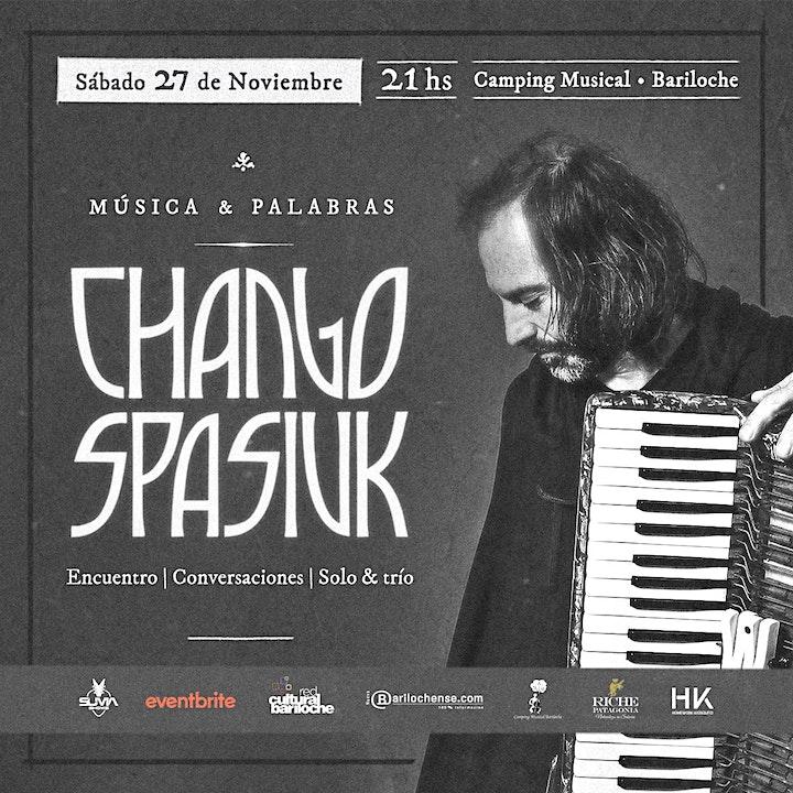 Imagen de CHANGO SPASIUK - Encuentro - Conversaciones - Solo