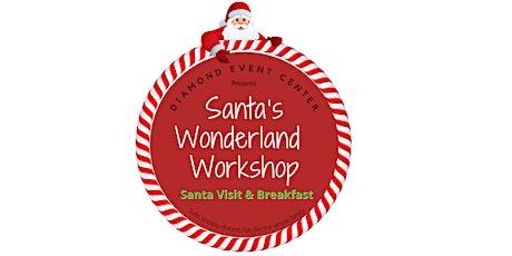 Breakfast with Santa 2021 tickets