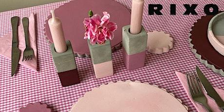 RIXO Craft Week- Sugar and Cement tickets