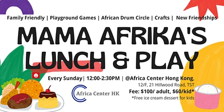 Mama Afrika's Lunch & Play tickets