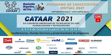 XIV CONGRESO AMERICANO DE TECNOLOGIAS EN AIRE ACONDICIONADO Y REFRIGERACION tickets