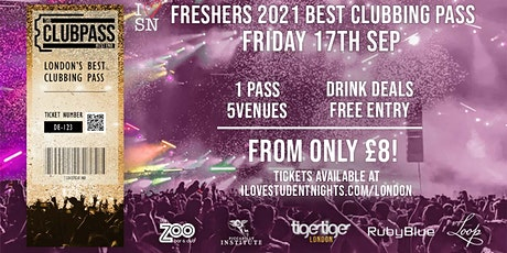 The Club Pass West End // Club Crawl // 5 Venues // Drink Deals and MORE! tickets