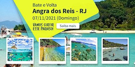 Excursão Bate e Volta Angra dos Reis RJ Praia - 07/11/2021 ingressos