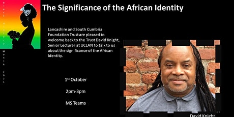 The significance of the African Identity tickets