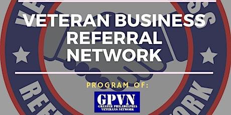 Veteran Business Referral Network - New Jersey  (Oct. 2021) tickets