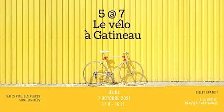 5 @ 7  Le vélo à Gatineau billets