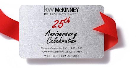KW McKinney's 25th Anniversary tickets