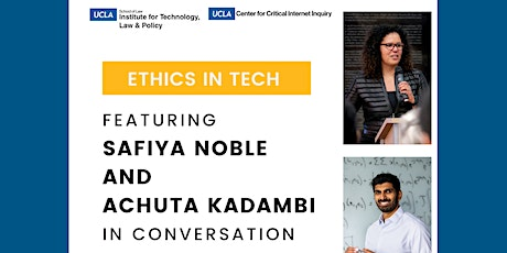 Ethics in Tech - A Conversation Series tickets