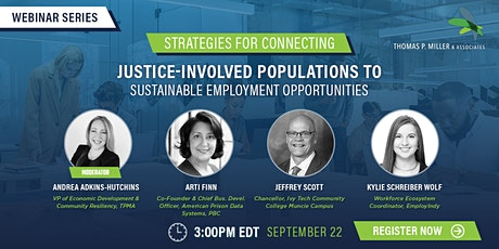 Strategies for Connecting Justice Involved Populations to Employment tickets