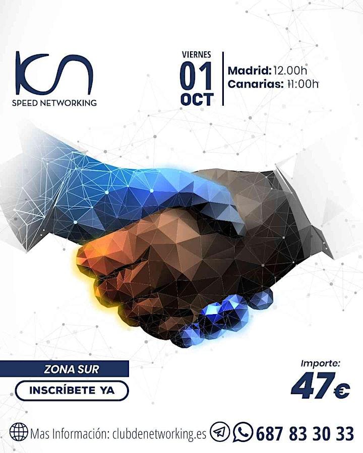 Imagen de KCN Speed Networking Online Zona Sur 01 OCT