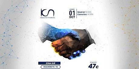 KCN Speed Networking Online Zona Sur 01 OCT entradas