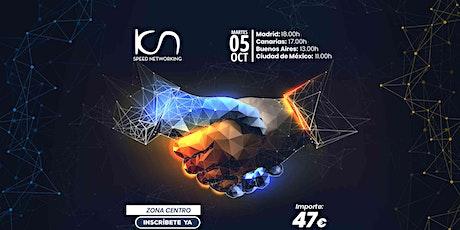 KCN Speed Networking Online Zona Centro 05 OCT entradas
