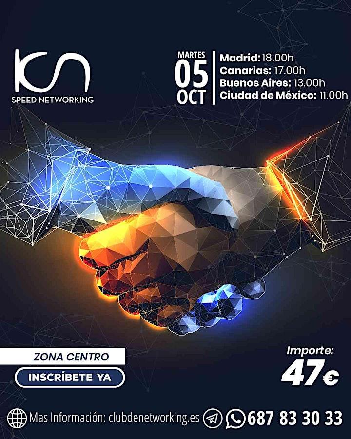 Imagen de KCN Speed Networking Online Zona Centro 05 OCT
