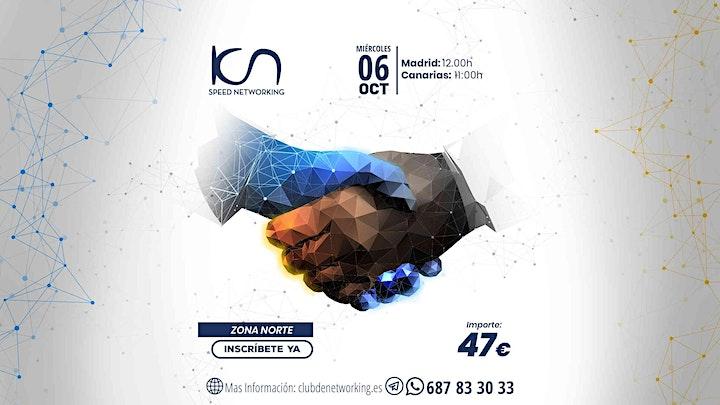 Imagen de KCN Speed Networking Online Zona Norte 06 OCT