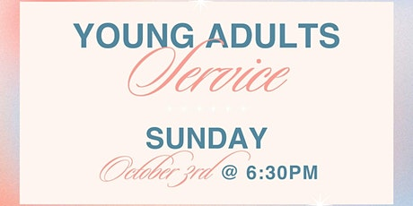 Young Adult Service   6:30pm tickets