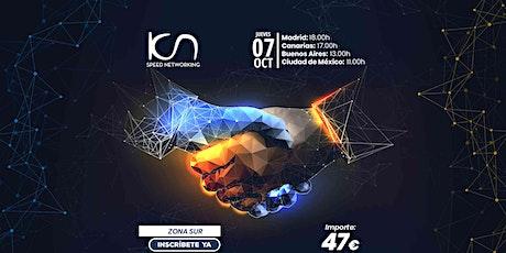 KCN Speed Networking Online Zona Sur 07 OCT entradas