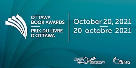 Ottawa Book Awards Virtual Ceremony | Prix du livre d'Ottawa - cérémonie tickets