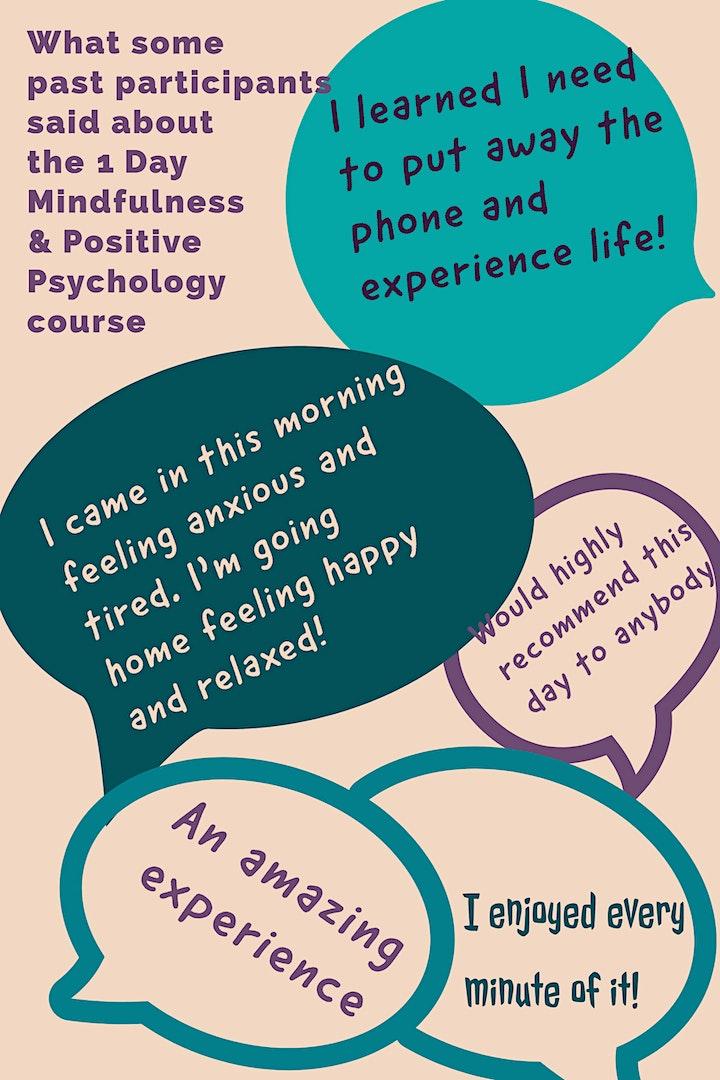 1 Day Mindfulness & Positive Psychology course image